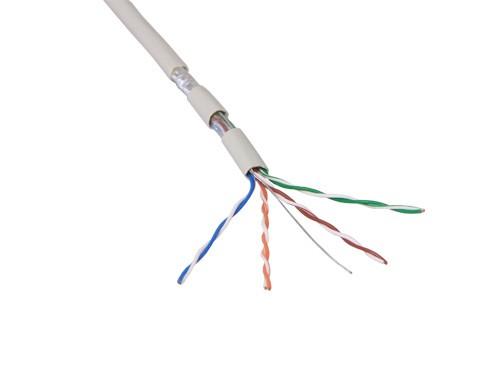 Verlegekabel, Cat.5e, F/UTP, halogenfrei, 500m Rolle, Good Connections®