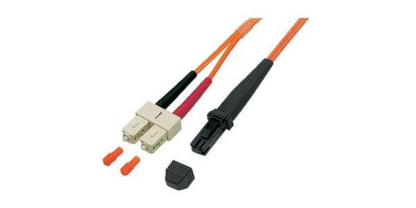 Patchkabel LWL Duplex OM2 (Multimode, 50/125) MT-RJ/SC, 2m, Good Connections®