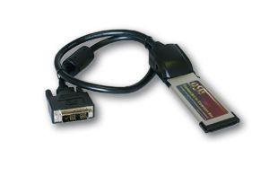 Anschlusskabel, DVI für PCIe Adapter Karte, 1m, Exsys [EX-10