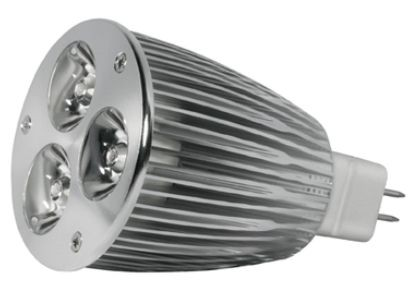 Power LED, GU5,3, 12V, 7,5W, 240lm, Ø 50 x 90mm, 4000K, Abst