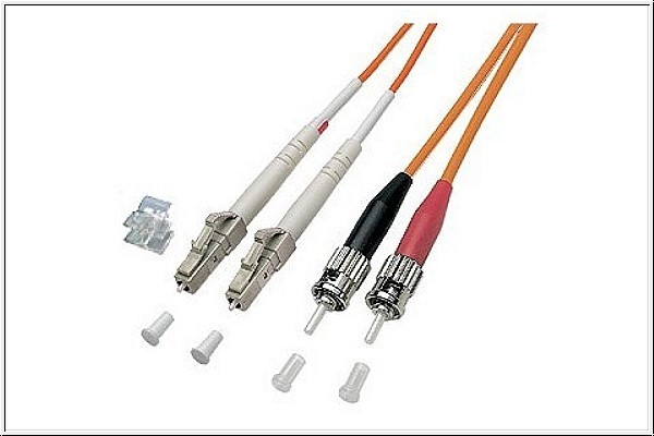 Patchkabel LWL Duplex OM1 (Multimode, 62,5/125) LC/ST, 2m, Good Connections®
