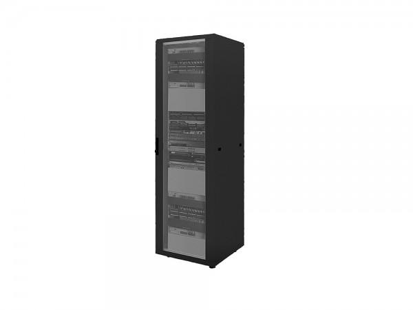 """19"""" Netzwerk Standschrank, 16HE, 600x800mm, schwarz, LogiLink® [D16S68B]"""