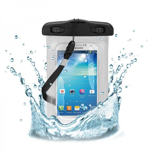 Beachbag für iPod, iPhone, Samsung, HTC, wasserdicht bis 3m, transparent