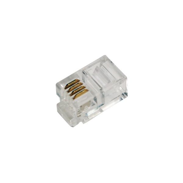 LogiLink® RJ10 Modularstecker, ungeschirmt [MP0017]