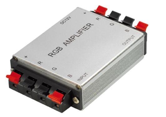 Verstärker für RGB Lichtleisten, 12V DC, max. 4A / Kanal