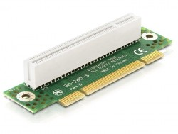 Riser Karte PCI 32 Bit 90° gewinkelt links gerichtet 2HE, Delock® [89087]