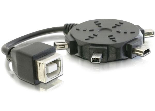 Adapterkabelset USB 2.0 auf Mini-USB, Delock® [82386]