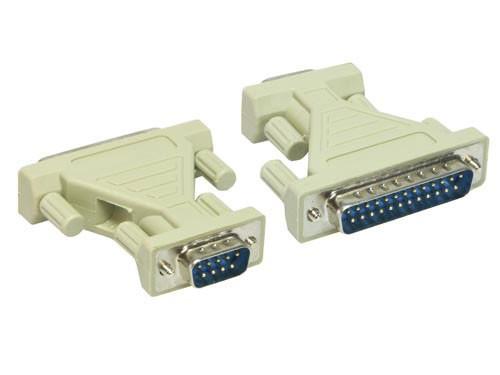 Serieller Adapter, 9-pol Stecker an 25-Pol Stecker, Good Connections®