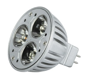 Power LED, GU 5,3, 3,5W,12 V, 110 lm, 4000K, Abstrahlwinkel: