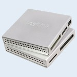 LogiLink® Cardreader USB 2.0, all in one, silver [CR0018]