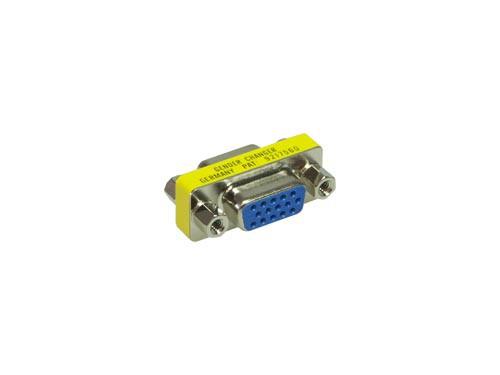 Gender-Changer 15-Pol HD (VGA) Buchse an Buchse, Good Connections®