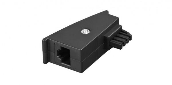 TAE Adapter, Stecker F auf RJ45 (8P2C) Kupplung, Good Connections®