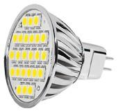 Power SMD-LED, 5W, 12V, 350 lm, 3000K, (warmweiß), nicht dimmbar, A+, 120° Abstrahlwinkel