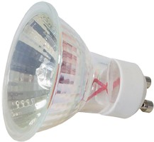 Halogen-Spiegellampe, 50W, 230V, 400 lm, 2700K, (warmweiß), dimmbar, D, 36° Abstrahlwinkel, 2er Blister