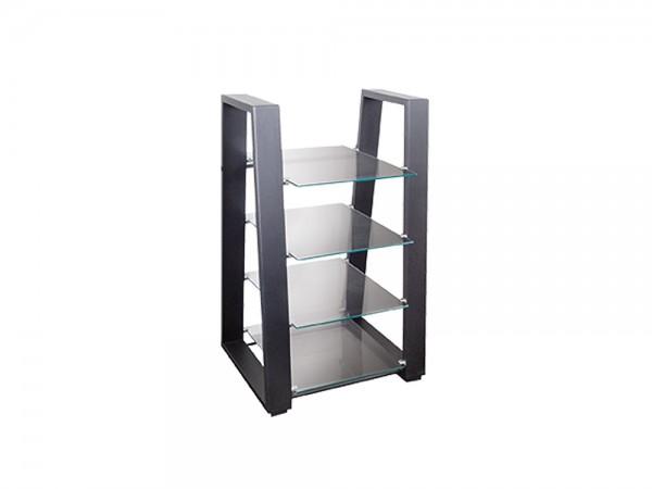 TV/HiFi Regal, Glasplatten aus 5 mm Sicherheitsglas, Belastung bis je 10 kg