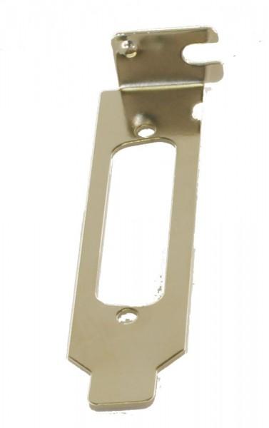 LowProfile Bracket für 25 Pin Stecker/Buchsen, Exsys® [EX-LP25PIN]
