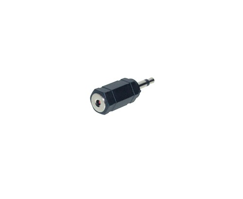 Audio Adapter 3,5 mm Klinke Mono Stecker / Stereo Buchse, Good Connections®