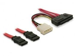 Kabel, SAS 29-Pin zu 2x SATA, 0,5m, Delock® [83054]
