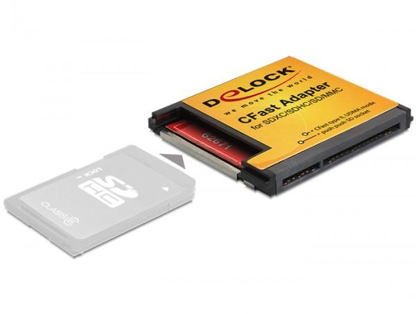 CFast Adapter für SDXC / SDHC / SD Speicherkarten, Delock® [62671]