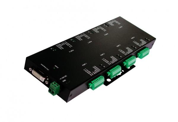 PCIe 8S Seriell RS-232/422/485 Module, Surge Prot., Exsys [E
