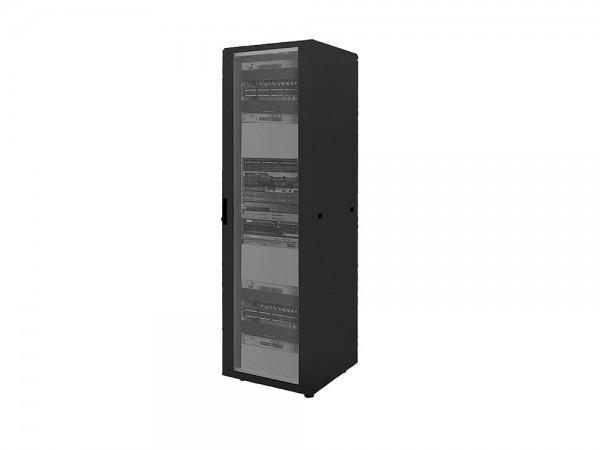 """19"""" Netzwerk Standschrank, 16HE, 600x600mm, schwarz, LogiLink® [D16S66B]"""