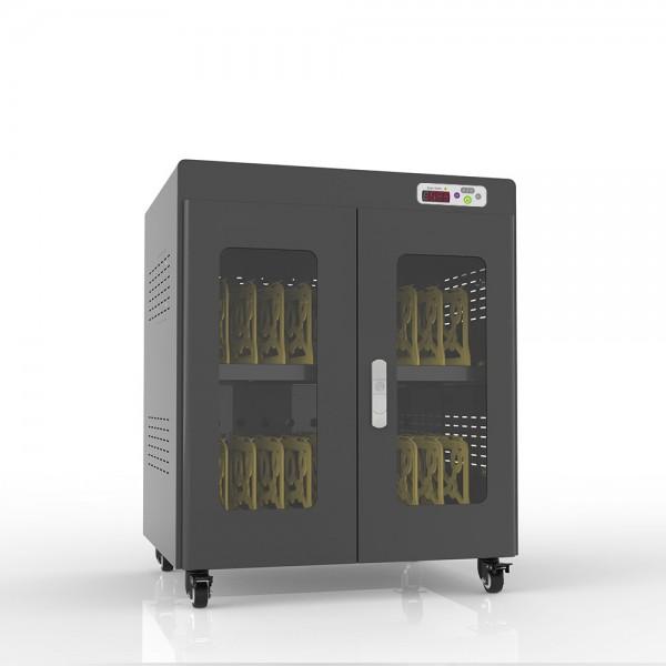 """Notebook-Ladewagen für Geräte bis 14"""" und bis zu 20 Geräten, inkl. UV-C Desinfektion und Smart Control, schwarz, Good Connections®"""