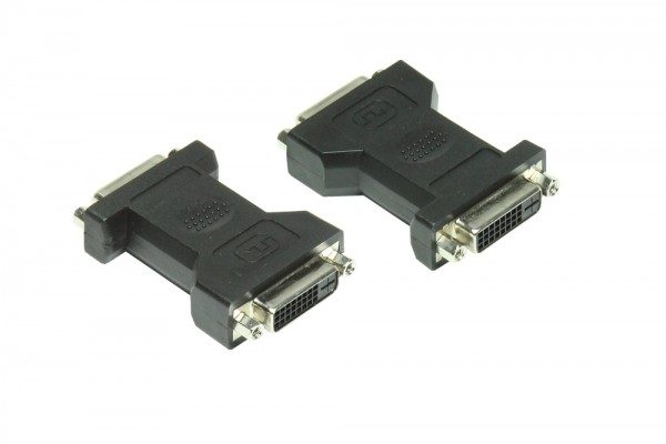 Adapter DVI-Buchse 24+1 an DVI-Buchse 24+1, Good Connections®