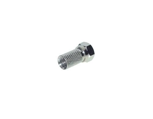 F-Stecker für Koaxkabel mit Außenmantel 6,7 mm, Good Connections®