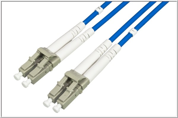 Patchkabel LWL Duplex OM3 PANZERKABEL (Multimode, 50/125) LC/LC, 50m, Good Connections®