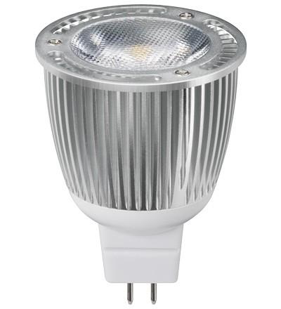 LED Spotlampe MR16 Daylight Weiß, Sharp Mini ZENI Chip LED, 280lm, 6,8W, 230V, 5000K
