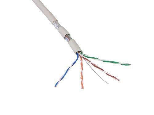 LogiLink® Verlegekabel, Cat. 5e, F/UTP, PVC, AWG26, 100m Rolle [CPV0013]