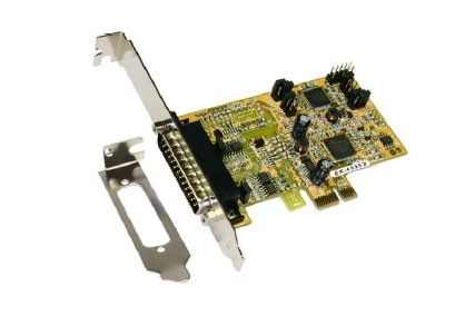 1S PCIe Serielle RS-422/485 Karte Surge Protection & Optical Isolation, Exsys® [EX-45352]