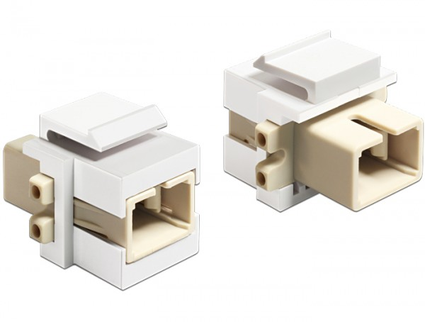 Keystone Modul SC Simplex Buchse an Buchse, Delock® [86331]