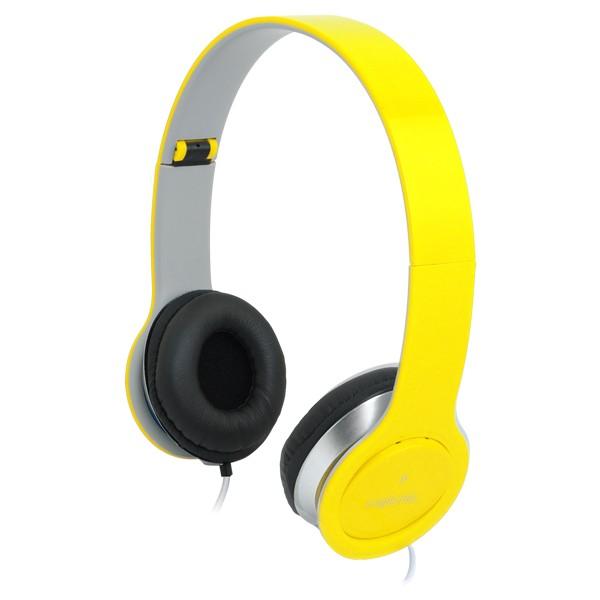 Kopfhörer, stereo, High Quality, gelb, LogiLink®, [HS0030]