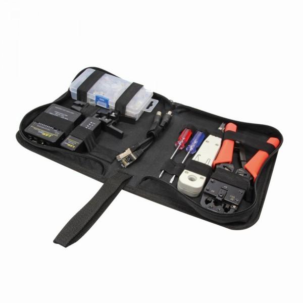 Netzwerk Werkzeug Set mit Tasche, LogiLink® [WZ0030]