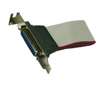 LowProfile Slotkabel 25 Pin Parallel 30cm länge, Exsys® [EX-K41005]