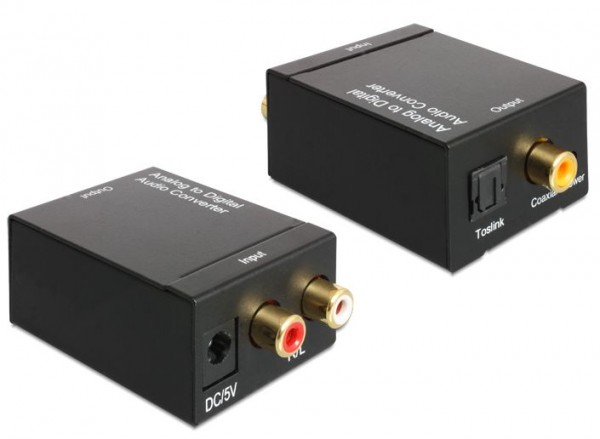 Konverter Audio Analog > Digital, Delock® [62443]