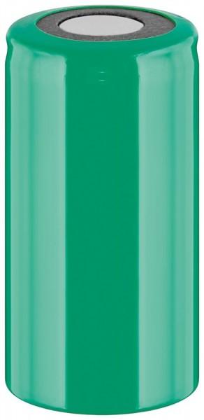 Werkzeugakku, Ersatzakku für schnurlose Elektrowerkzeuge, Sub-C, PVC-Mantel, Flat-Top, 1,2V, 2500mAh, Ni-MH