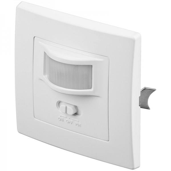 Bewegungsmelder Infrarot, Wandmontage Unterputz, Indoor, weiß