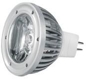 Power-LED, 3W, 12V, 160 lm, 3800K, (warmweiß), nicht dimmbar, A, 60° Abstrahlwinkel