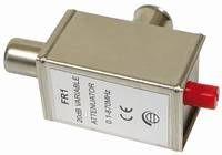 Regelbares Dämpfungsglied IEC, 0,1 - 870 MHz, 0 - 20 dB