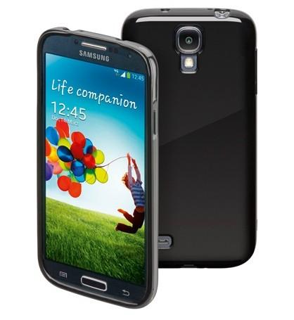 TPU Tasche, (Hartsilikon) für Samsung Galaxy S4, schwarz