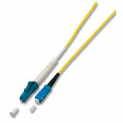 Patchkabel LWL Simplex OM1 (Multimode, 62,5/125) LC/SC, 5m, Good Connections®