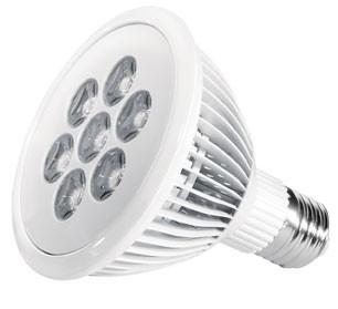 Power LED, 12W, 230V, 600 lm, 3000K, (warmweiß), dimmbar, A, 45° Abstrahlwinkel