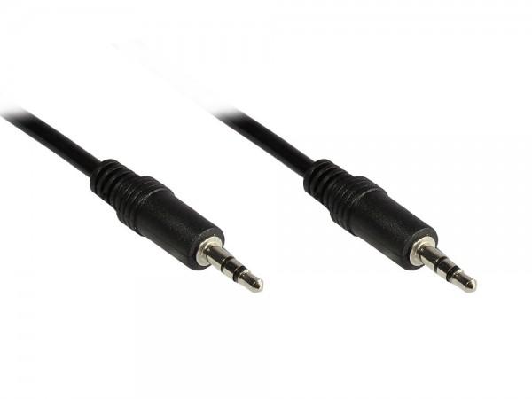 Stereo Verbindung 3,5mm Klinke St./St., 50cm, Good Connections®