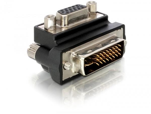 Adapter VGA-Buchse an DVI-Stecker, nach oben gewinkelt, Good Connections®