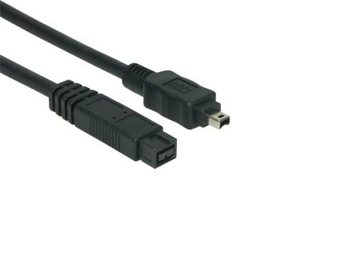 Anschlusskabel FireWire IEEE1394b 9/4, 1m, Good Connections®