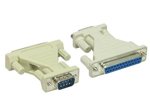 Serieller Adapter 9-pol Stecker 25-pol Buchse, Good Connections®