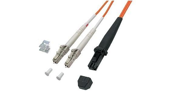 Patchkabel LWL Duplex OM2 (Multimode, 50/125) LC/MT-RJ, 1m, Good Connections®