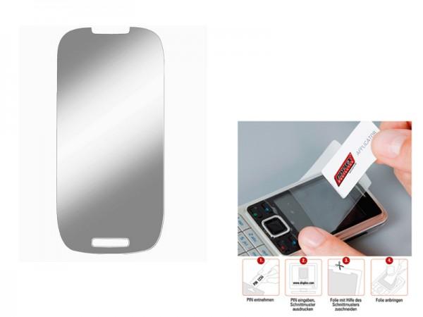 Displayschutzfolie, Universal für Geräte bis 12 cm Bildschirmdiagonale